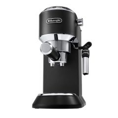 Delonghi 0132106220 EC685 Black Dedica Pump Driven Espresso Maker & Milk Frother