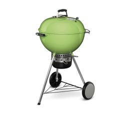 Weber 14511004 Lime Green 57cm MasterTouch with GBS Grate & Tuck Away Lid Charcoal Braai