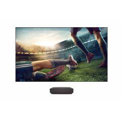 "Hisense LEDNHE100LN60D Ultra-Short Throw 100"" Dual Color 4K Smart Laser TV"