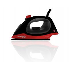 "Mellerware 23120 1200W Black Steam / Dry ""Glide"" Iron"