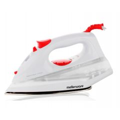 "Mellerware 23130 1400W White Steam / Dry / Spray ""Orion"" Iron"