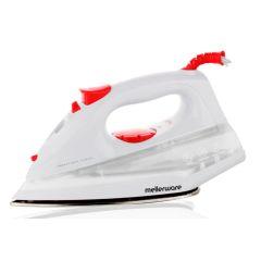 """Mellerware 23130 1400W White Steam / Dry / Spray """"Orion"""" Iron"""