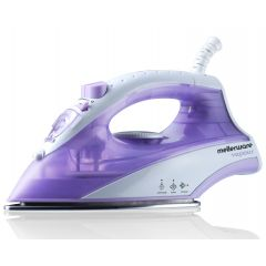 "Mellerware 23140 1400W Purple Dry / Steam / Spray ""Vapour"" Iron"