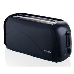 "Mellerware 24441 4 Slice Plastic Black ""Hot Slice"" Toaster"