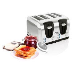 "Mellerware 24505 4 Slice Stainless Steel ""Sigma Legend"" Toaster"