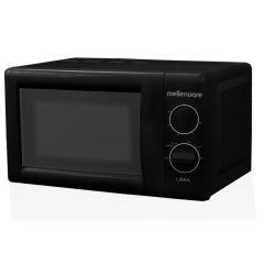 Mellerware 26800B 17L Black Manual 'Libra' Microwave