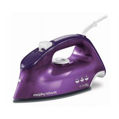 "Morphy Richards 300282 2400W Purple Steam / Dry / Spray ""Breeze Easy Fill"" Iron"