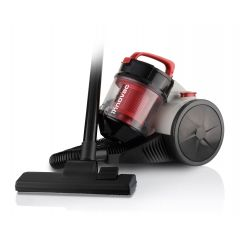 """Mellerware 31120RD 1200W Red """"Innovac"""" Bagless Canister Vacuum"""