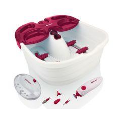 "Mellerware 46001 White ""Pamper Pack"" Foot Spa & Pedicure Set"
