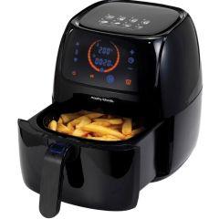 "Morphy Richards 480001 1400W LED Display Plastic Black ""Health Fryer"" Air Fryer"