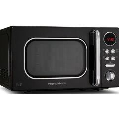 "Morphy Richards 511500 20L Black Digital ""Accents"" Microwave"