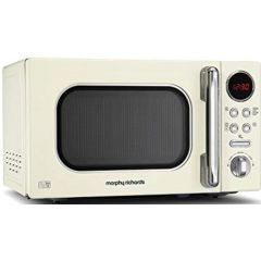 "Morphy Richards 511501 20L Cream Digital ""Accents"" Microwave"
