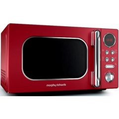 "Morphy Richards 511502 20L Red Digital ""Accents"" Microwave"