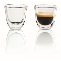 Delonghi 5513214591 Double Walled Espresso Glasses