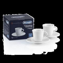 De'Longhi DLSC308 Espresso Cups Porcelain