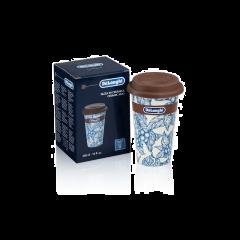 De'Longhi DLSC064 Thermal Mug Blu Flower