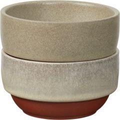 Jamie Oliver 556910 80mm Rustic Italian Multicolored Mini Bowls