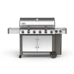 Weber 63004144 Silver Genesis II LX S640 Gas Grill