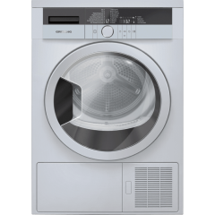 Grundig GTN 38250 SGC 8KG Silver Heat Pump Tumble Dryer