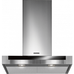 Grundig GDK 2774 BXB 600mm Stainless Steel Wall Mounted Extractor