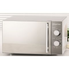 Russell Hobbs 852060 20L Mirror Manual Microwave