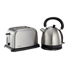Russell Hobbs 852116 2-Piece Brushed Stainless Steel Pack