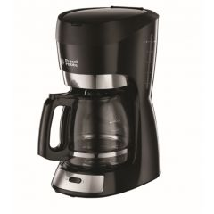 Russell Hobbs 853957 12-Cup Black Futura Filter Coffee Maker