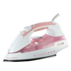 Russell Hobbs 854076 2200W Pink Crease Control Steam Iron