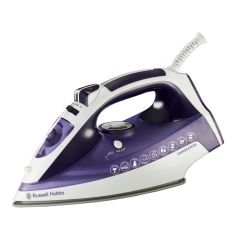 Russell Hobbs 854090 2200-2400W Purple Vapor Excel Steam Spray Iron