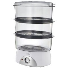 Salton 855448 SFS100 400W 3-Tier Food Steamer