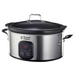 Russell Hobbs 855777 6L Stainless Steel Digital Slow Cooker