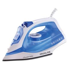 Russell Hobbs 857842 2200W Blue Pro-Glide Stream Spray Iron
