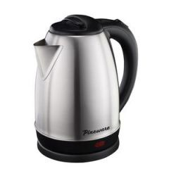 Pineware 858556 1.5L Stainless Steel Cordless Kettle