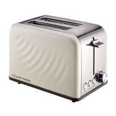 Russell Hobbs 858605 2 Slice Cream Swirl Toaster