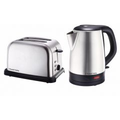 Russell Hobbs 858997 2 Piece Stainless Steel Breakfast Pack
