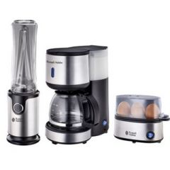 Russell Hobbs 859725 3 Piece Stainless Steel Mini Morning Pack