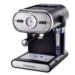 Russell Hobbs 859942 Black Vintage Espresso Maker