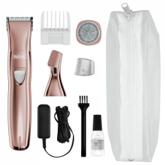 Wahl 9865-2916 Rose Gold Rechargeable Ladies Trimmer Set