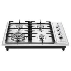 Cadac 99600-42-01-ZA 600mm Stainless Steel 4 Burner Gas Hob