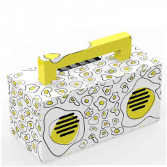 Aiwa ABT-810WY Portable Bluetooth Speaker