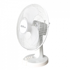 Alva ACS205 30cm Plastic Desk Fan White