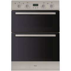 Whirlpool ADMC 1918 /IX 600mm Stainless Steel Double Built-In Oven