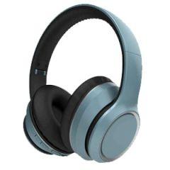 Aiwa AW-16 Blue Bluetooth Stereo On Ear Headphones