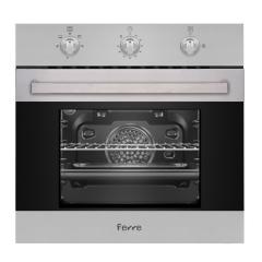 Ferre BG2-LM 600mm Stainless Steel Built-In 3 Function Gas Eye-Level Oven