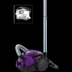 Bosch BGN21700 1700W Purple Bag&Bagless Canister Vacuum Cleaner