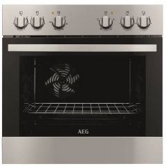 AEG BOU20311XV 600mm Stainless Steel Under Counter Oven