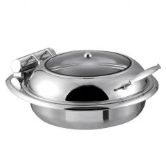 Snappy Chef ECCC006 5.7L Elite Round Chafing Dish