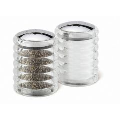 Cole & Mason 70mm Clear Beehive Shakers