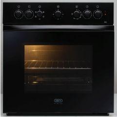 Defy DBO458 600mm Black Under Counter Oven