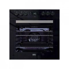 Defy DBO488 600mm Black Slimline ThermoFan+ Undercounter Oven